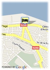 map-Appart Hotel Le Trianon