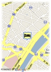 map-Hotel Home Passy
