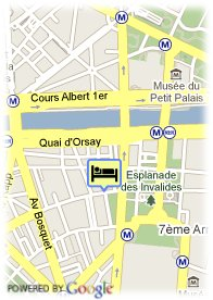 map-Hotel Saint Dominique
