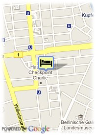 map-Apartments Berlin-Mitte Checkpoint Charlie
