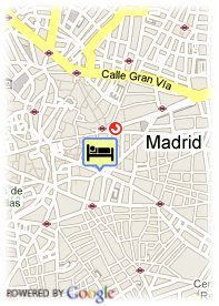 map-Puerta del Sol Apartments