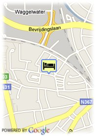 map-B&B Doeninghe