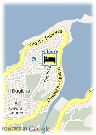 map-Qawra Inn Hotel