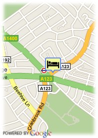 map-St Georgio Hotel