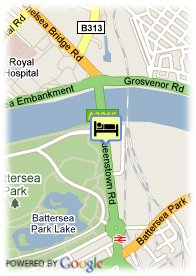map-Pestana Chelsea Bridge Hotel