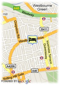 map-Hyde Park Hotel