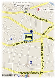 map-Axel Hotel Berlin