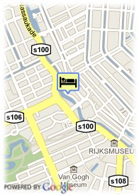 map-King Hotel Amsterdam