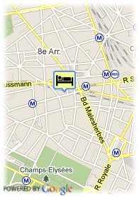 map-Hotel Park Lane Paris