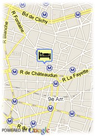 map-Hotel Brittany