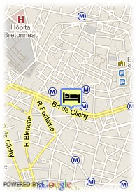 map-Hotel villa Royale