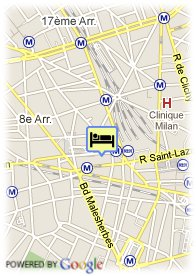map-Hotel Pavillon Saint Augustin