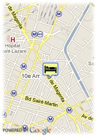 map-Hotel Le Pavillon Republique Les Halles