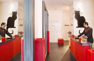 Design hotel Parijs: Hotel Chat Noir Design in Parijs