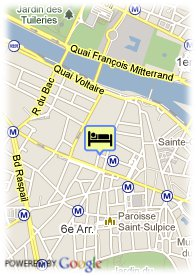 map-Hotel Jardins de Paris Saint Germain