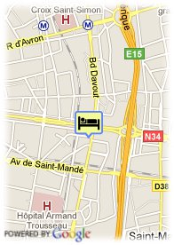 map-Hotel Jardins de Paris Nation Bercy