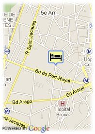 map-Seven Hotel