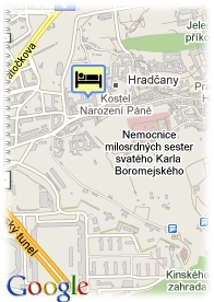 map-Hotel Golden Star