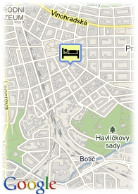 map-Hotel Trevi