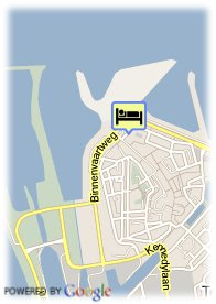 map-Golden Tulip L'Escaut