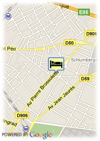 map-Hotel Best Western Paris Parc des Expos