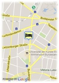 map-AMC Apartments Berlin