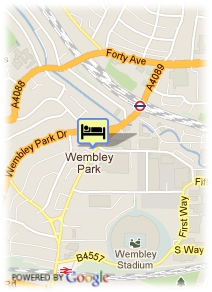 map-Quality Hotel Wembley & Conference Centre