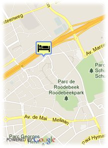 map-Ramada Brussels